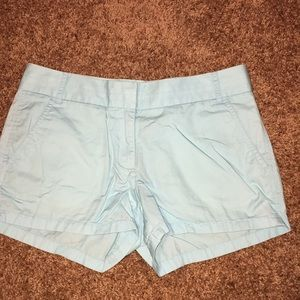 Light Blue Chino J Crew Shorts